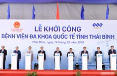Thủ tướng dự lễ khởi công bệnh viện quốc tế 1.000 giường, tổng vốn 3.700 tỉ đồng