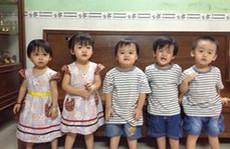 Ca sinh 5 đầu tiên ở Việt Nam bây giờ ra sao?