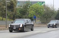 Chuyên xa 'Quái thú' của Tổng thống Donald Trump chạy về  Hà Nội