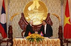 Đẩy mạnh hợp tác toàn diện Việt - Lào
