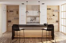 Tủ bếp hiện đại, độc đáo
