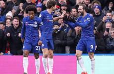 Higuain đại náo Stamford Bridge, Chelsea trở lại đường đua Ngoại hạng