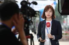 Cận cảnh những nữ phóng viên xinh đẹp tác nghiệp thượng đỉnh Mỹ-Triều
