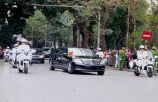 Chủ tịch Triều Tiên Kim Jong-un rời Hà Nội, lên đường về nước