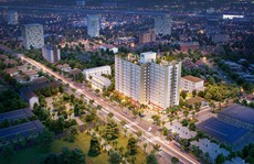 Dự án Citrine Apartment cất nóc vượt tiến độ
