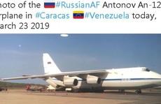 Máy bay quân sự Nga chở binh sĩ tới Venezuela