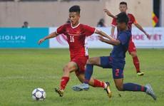Lứa 'đàn em' Quang Hải vượt trội nhưng không thắng nổi U19 Thái Lan
