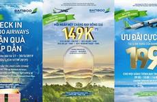 Cơ hội mua hàng ngàn vé với giá từ 149.000 VND của Bamboo Airways