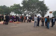 Hiện trường kinh hoàng vụ xe khách tông đoàn đưa tang khiến 7 người chết