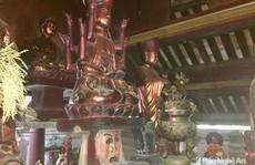 """Độc đáo bức tượng """"đầu người đội Phật"""" nghìn năm tuổi"""