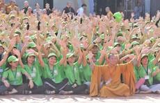 """Hơn 1.500 bạn trẻ về Cần Thơ tham gia Hội trại """"Tuổi trẻ và Phật giáo"""""""