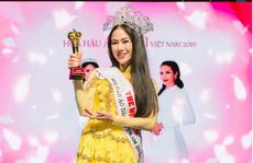 'Mỹ nhân Sao Mai' Tuyết Nga đăng quang Hoa hậu áo dài Việt Nam