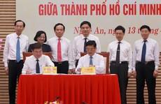 TP HCM và Nghệ An ký nhiều thỏa thuận hợp tác lớn