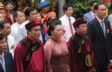Chủ tịch Quốc hội Nguyễn Thị Kim Ngân dâng hương các Vua Hùng