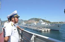 2 tàu hộ vệ tên lửa Đinh Tiên Hoàng và Trần Hưng Đạo thăm Trung Quốc