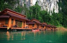 Khách sạn nổi được ví như 'tiên cảnh' ở Thái Lan
