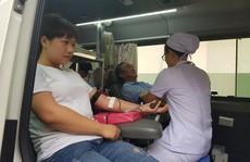 400 CNVC-LĐ  quận 3, TP HCM tham gia hiến máu nhân đạo