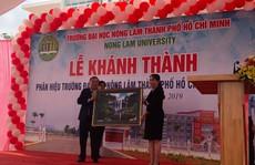 Khánh thành phân hiệu ĐH Nông lâm TP HCM tại Gia Lai