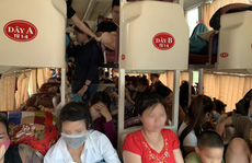 Bắt xe khách 42 chỗ nhồi nhét đến 73 người