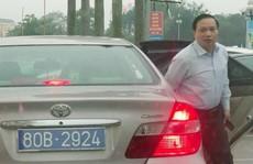 Chủ tịch HĐND tỉnh Ninh Bình đi xe biển 80B: Vi phạm quy định về trách nhiệm nêu gương
