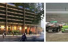 Khu đỗ xe thông minh trong dự án ngàn tỉ FLC Green Apartment