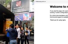 Website, Fanpage của Nhật Cường Mobile đồng loạt 'biến mất'