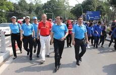 Phát động chương trình đi bộ vì sức khỏe