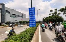 Tăng thời gian xe máy lưu thông vào làn ôtô đường Phạm Văn Đồng và Trường Chinh