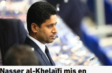 'Ông trùm' PSG dính nghi án hối lộ, bóng đá Pháp rối beng