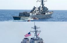 Tàu chiến Mỹ qua eo biển Đài Loan nhiều hơn dưới thời ông Obama?