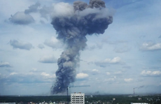 Nổ dây chuyền ở nhà máy Nga, hàng chục người bị thương