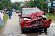 Đình chỉ công tác thiếu úy công an lái ôtô tông chết 2 người phụ nữ