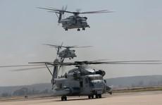 """Trực thăng quân sự Mỹ phô diễn sức mạnh trong tập trận """"Voi đi bộ"""""""
