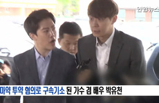 """""""Hoàng tử gác mái"""" Park Yoo Chun khóc nức nở tại tòa"""