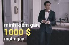 Trò lừa đảo kiếm 1.000 USD/ngày trên YouTube Việt Nam