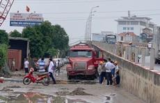 Vỡ đường ống dẫn nước sạch, hàng ngàn hộ dân ở Hà Nội bị ảnh hưởng