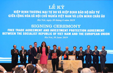 Hai hiệp định EVFTA và EVIPA: Tuyến cao tốc nối EU và Việt Nam