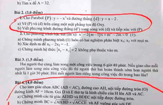 Xôn xao đề thi vào lớp 10 ở Quảng Ngãi giống đề thi thử