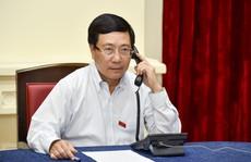 Phó Thủ tướng điện đàm với Ngoại trưởng Singapore về phát biểu của ông Lý Hiển Long