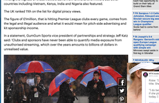 Người Việt xem 'lậu' Ngoại hạng Anh đứng tốp 5 thế giới