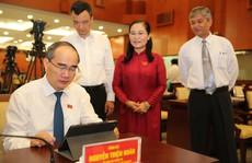 Trải nghiệm kỳ họp HĐND không giấy đầu tiên tại TP HCM