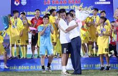 Có bầu Đệ treo thưởng, U17 Thanh Hóa lên ngôi