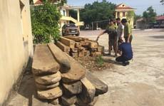 Truy đuổi xe chở gỗ lậu, kiểm lâm bị 'lâm tặc' dùng đá đập vào đầu cấp cứu
