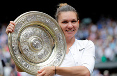 Clip: Đánh bại Serena Williams, Halep vô địch Wimbledon 2019