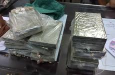 Nữ giáo viên về hưu ăn mặc quê mùa 'ôm' 15 bánh heroin từ Nghệ An ra Nam Định