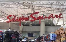 Thu giữ hàng ngàn sản phẩm nhái, giả ở chợ Bến Thành và Sài Gòn Square