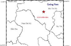 Động đất kèm tiếng nổ lớn 'rung chuyển' Bắc Trà My