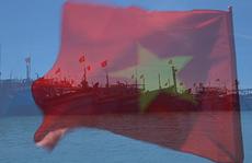[Video] - Cờ Tổ quốc tung bay trên đảo tiền tiêu Lý Sơn