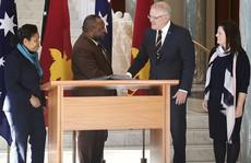 Đến Úc, Thủ tướng Papua New Guinea khuyên đừng nhắc về Trung Quốc