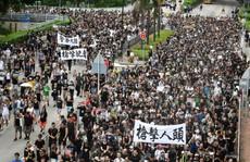 """Trung Quốc cảnh báo Mỹ nhấc """"bàn tay đen"""" ra khỏi Hồng Kông"""